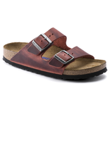 Arizona Earth Red Oiled Leather Soft Footbed