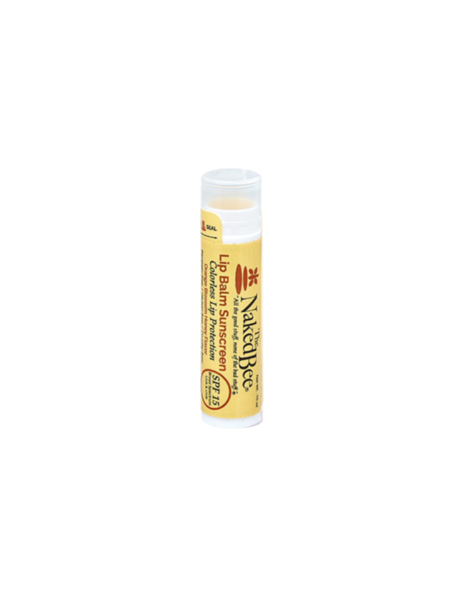 The Naked Bee SPF 15 Colorless Lip Balm