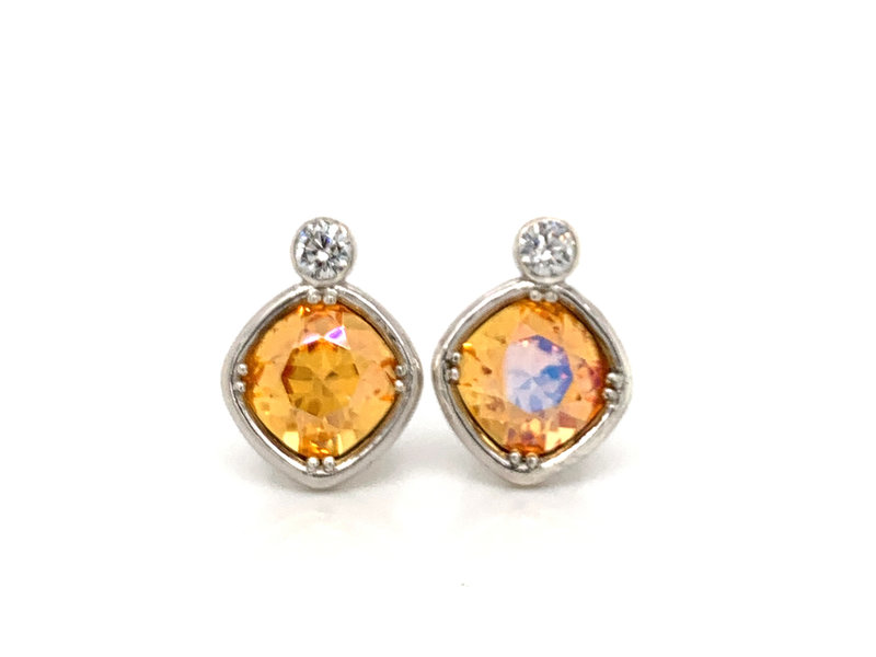 Bright Lights Sparkle Earrings - Bright Lights