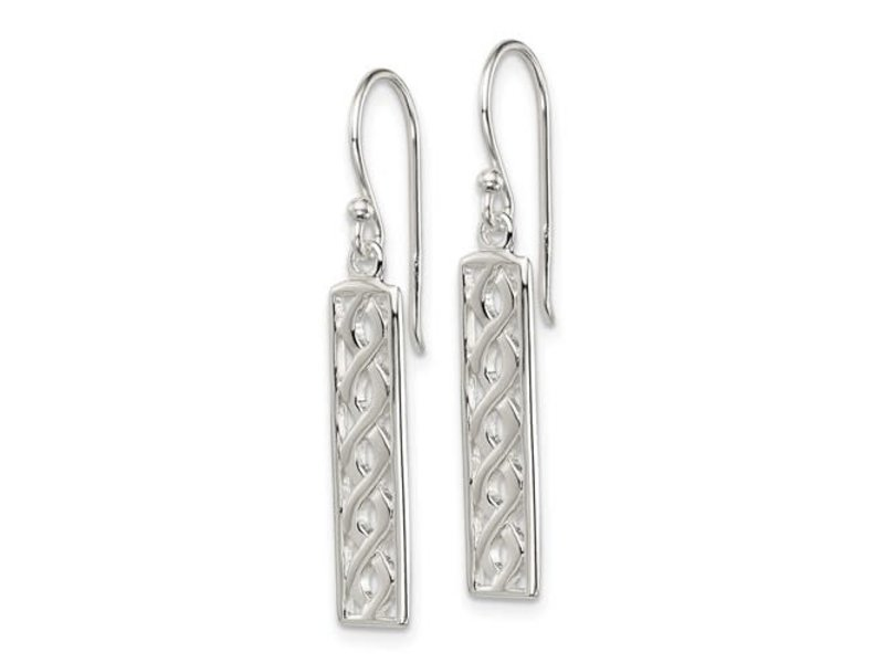 This Is Life Twisted Rope Dangle Earrings