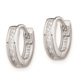 This Is Life CZ 12 mm Huggie Earrings