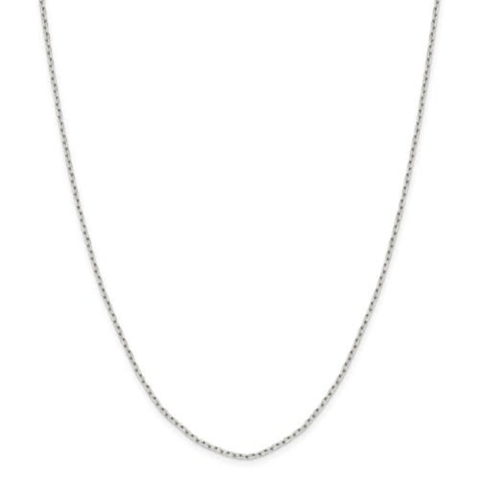 This Is Life Sterling Silver 1.65mm 8 Sided Diamond Cut Cable 16 Inch Chain