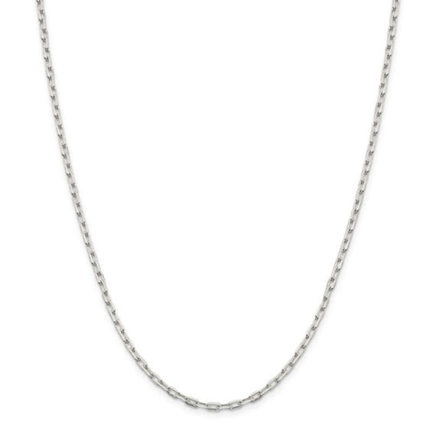 """This Is Life Mini Paper Link Sterling Silver 30"""" Chain"""