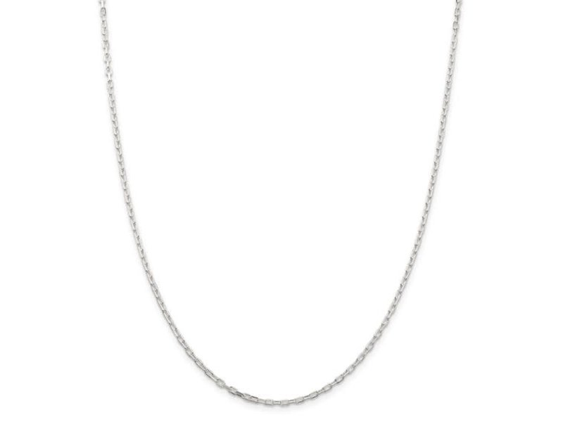 This Is Life Sterling Silver 2.2mm Fancy Diamond-Cut Open Link Cable 300Inch Chain