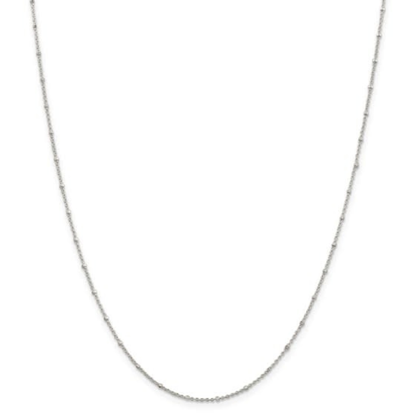 This Is Life Sterling Silver 1.25mm Rolo with Beads Chain