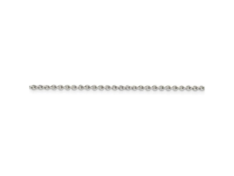 This Is Life Sterling Silver 1.95mm Cable Chain