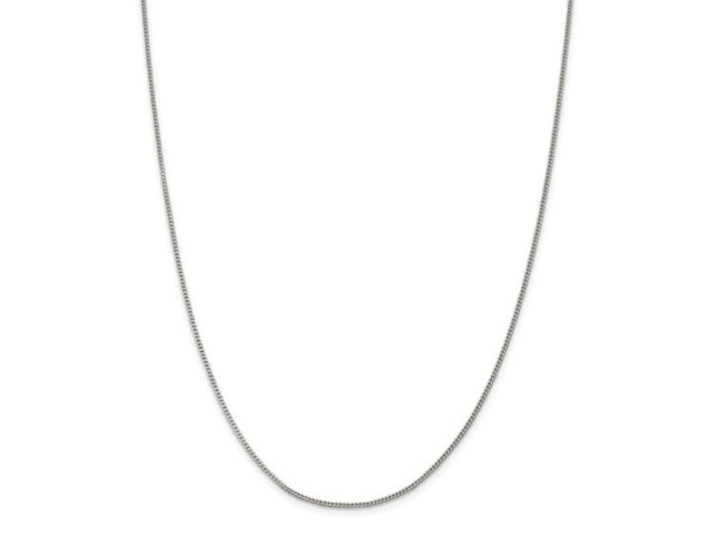 This Is Life Curb Chain Sterling Silver 1.5mm -  18""