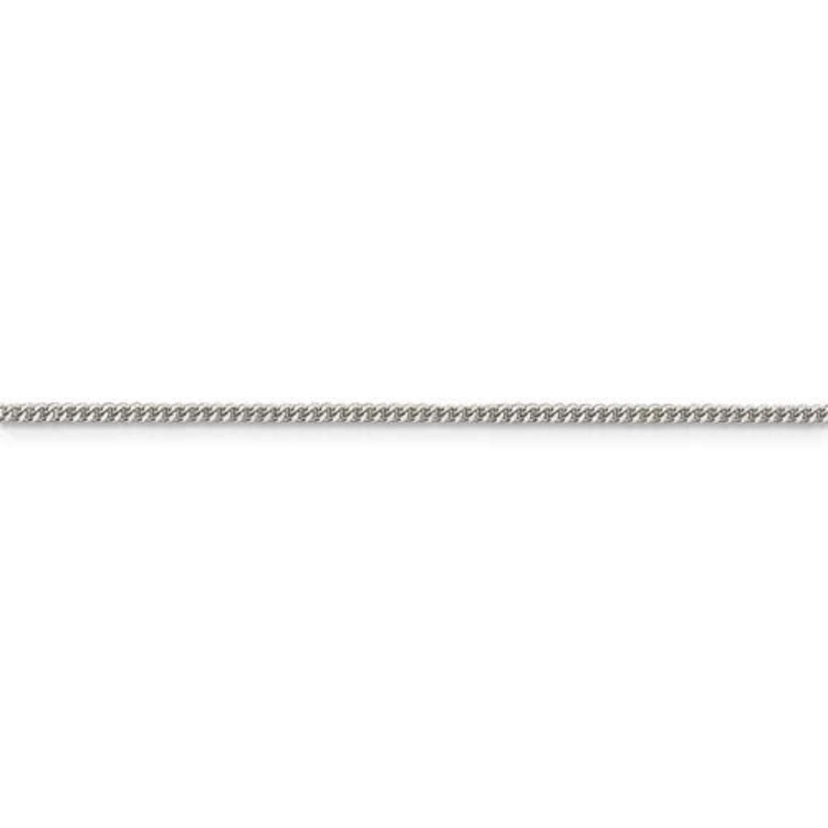 """This Is Life Curb Chain Sterling Silver 1.5mm -  18"""""""