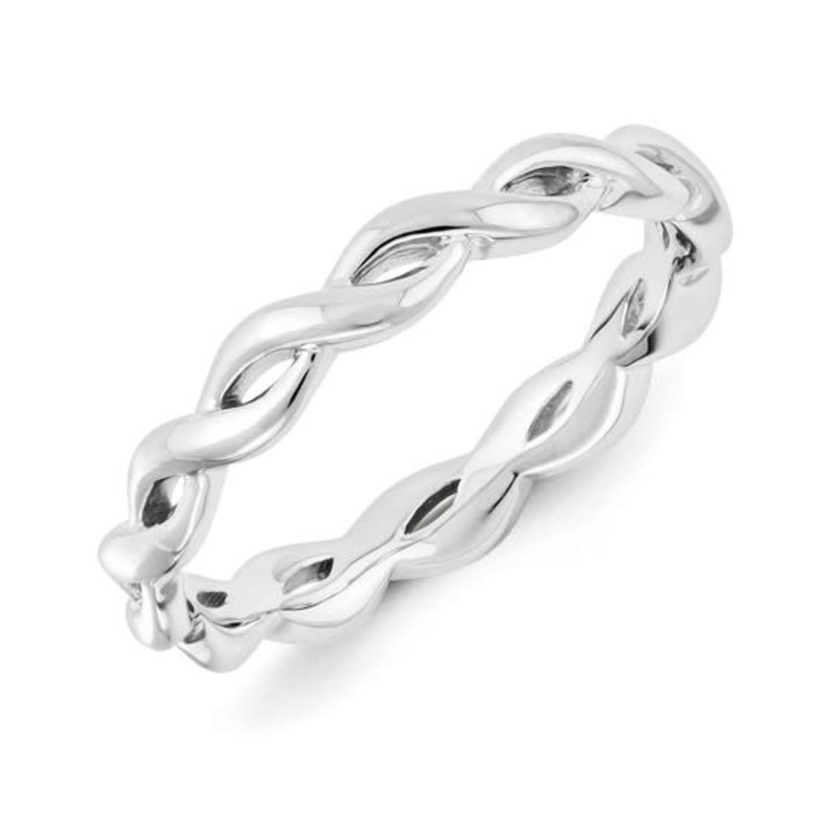 This Is Life Dream Weaver Sterling Silver Stackable Band
