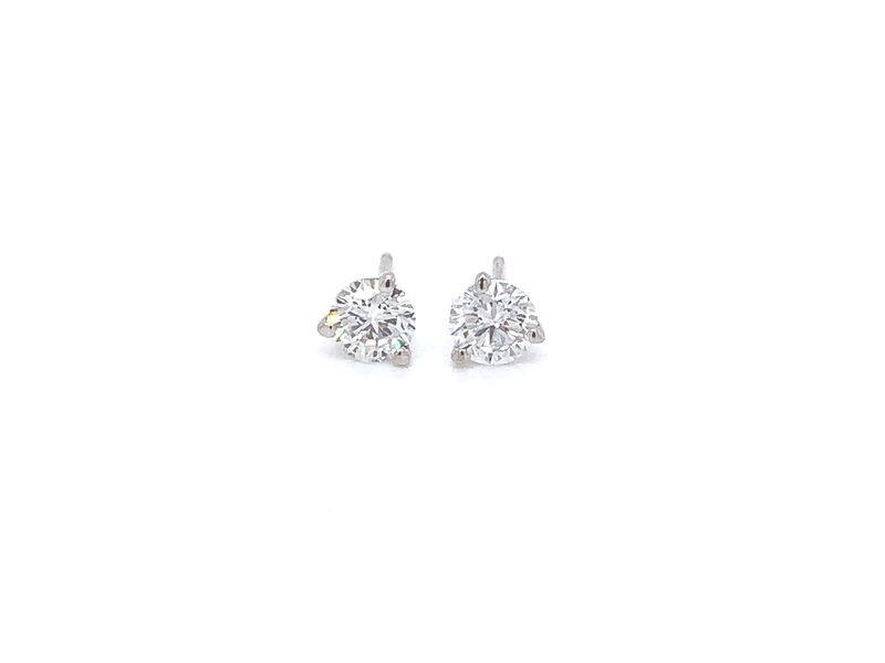 On The Edge Lab Diamond Earrings - 1.00 ctw