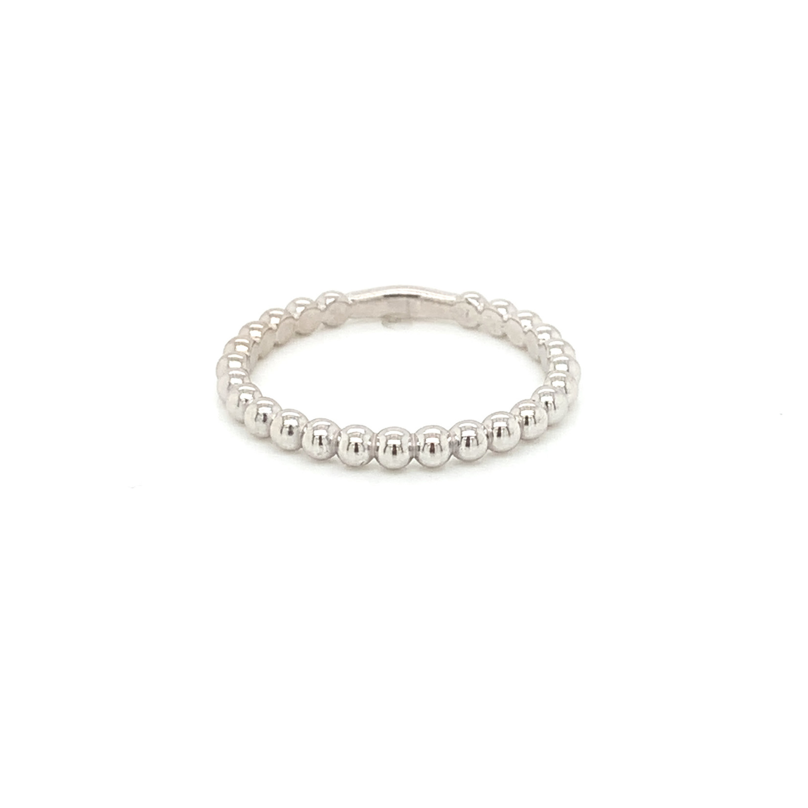 On The Edge Bumpy Road 14kt White Gold Ring