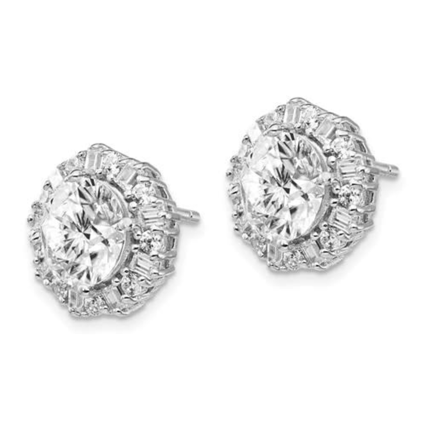 This Is Life Gorgeous to the Max CZ Sterling Silver Earrings