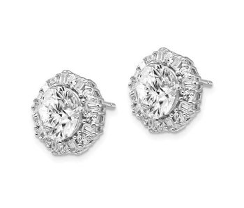 Gorgeous to the Max CZ Sterling Silver Earrings