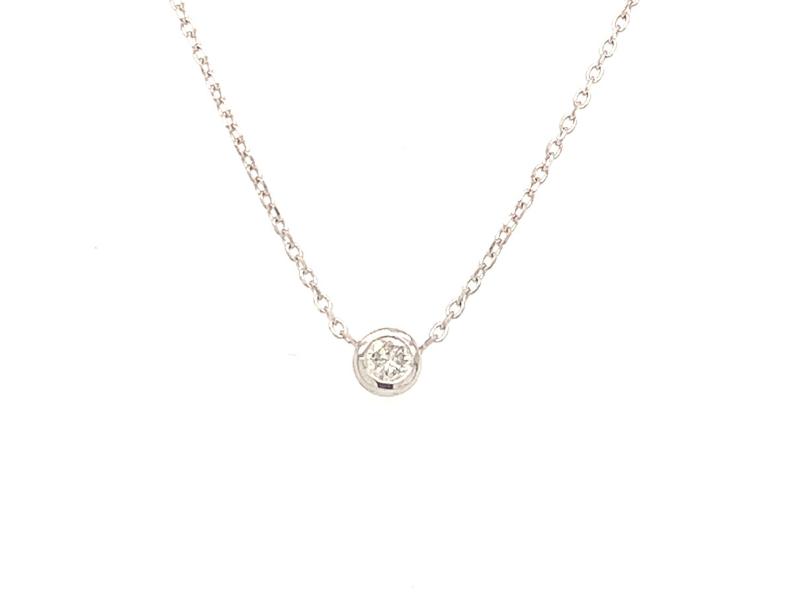 On The Edge Guiding Light  - .16ct Diamond Necklace - On The Edge