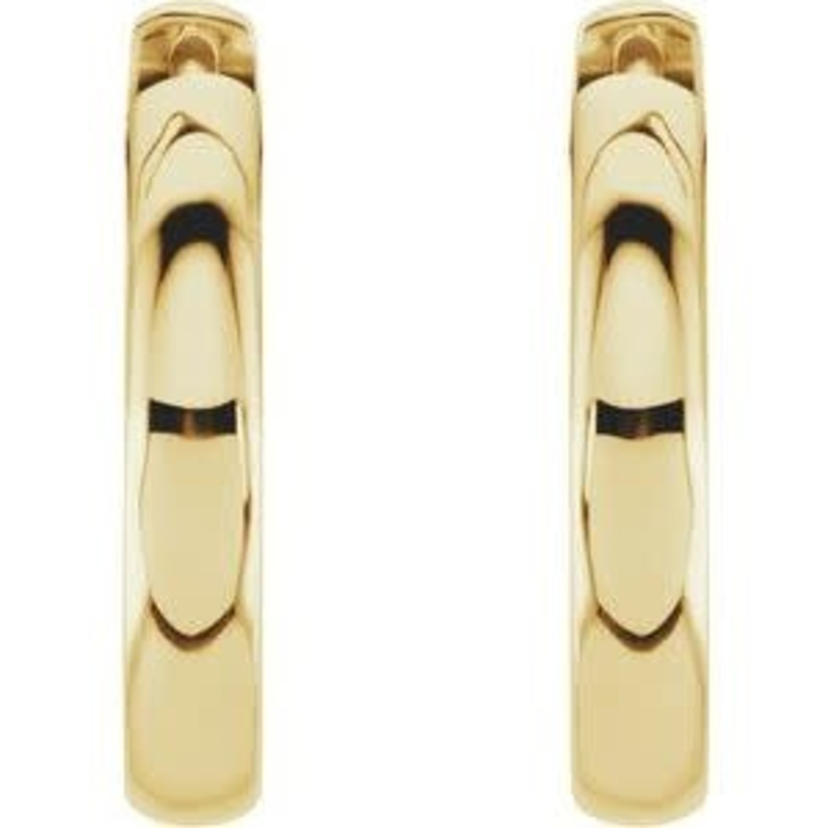 This Is Life The Perfect Go To Hoop Earring - 14kty