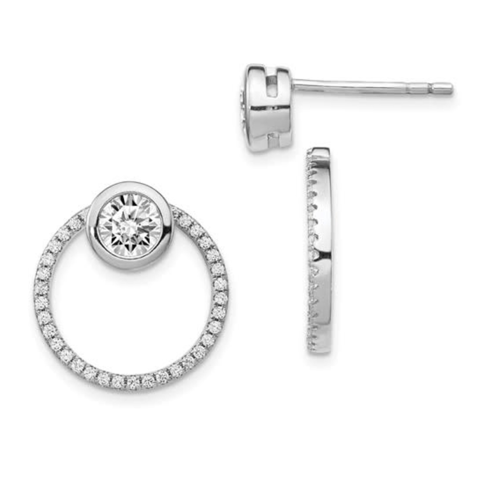 This Is Life The Perfect Combination Sterling Silver Earring