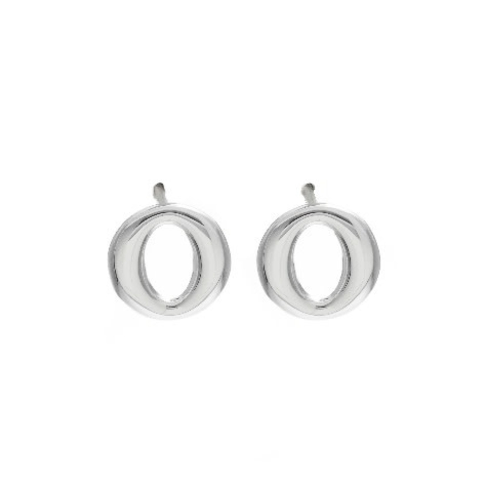 This Is Life Oh Sterling Silver Earrings