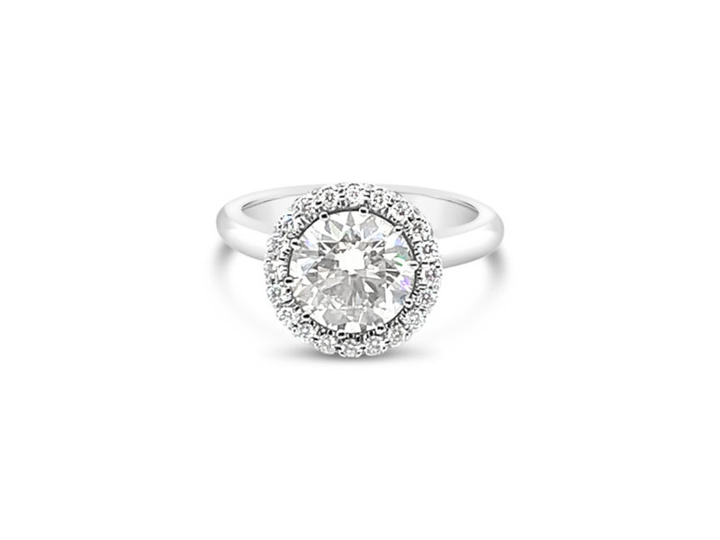 MJ Designs Crown Jewel Diamond Engagement Ring - 2.44ct tw