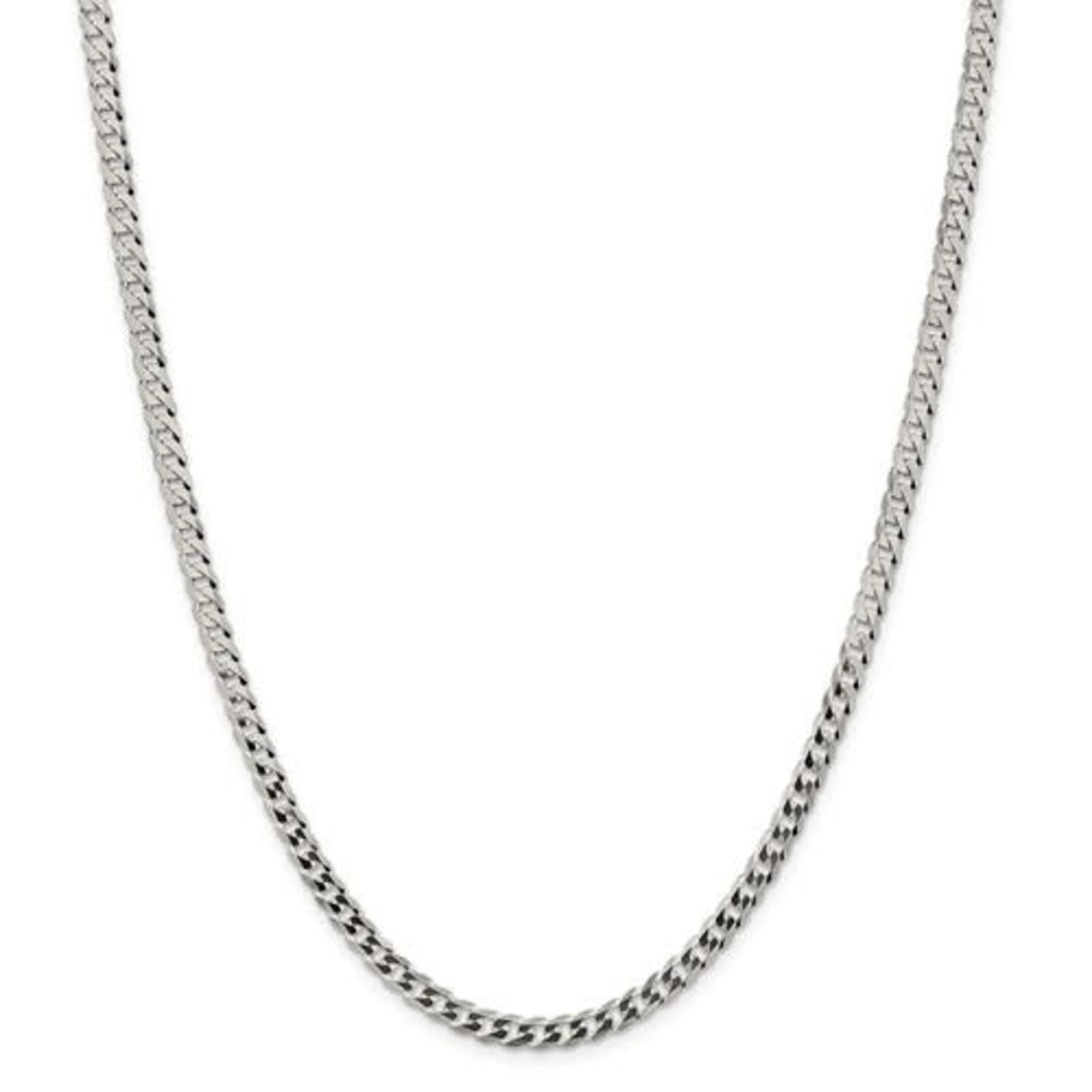 """This Is Life Men's Curb Chain Sterling Silver  - 22"""""""