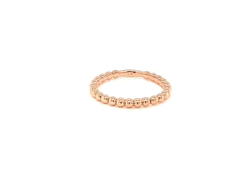 On The Edge Bumpy Road 14kt Rose Gold Ring