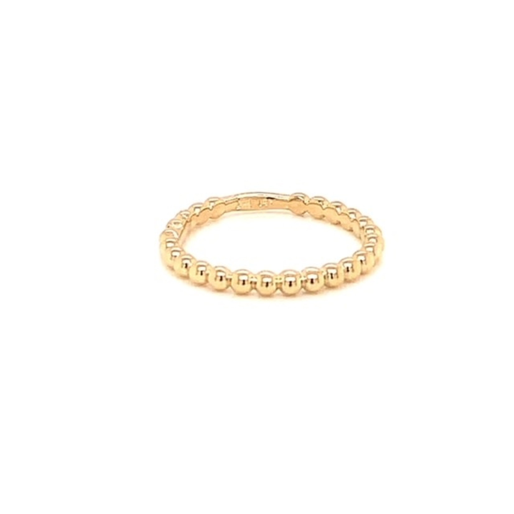 On The Edge Bumpy Road 14kt Yellow Gold