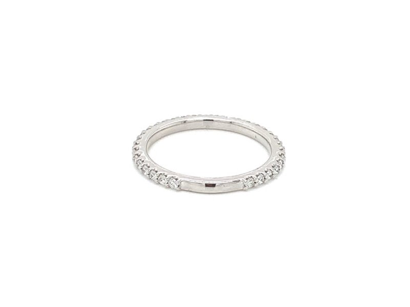 On The Edge Stand By Me Diamond Band 14kt WG