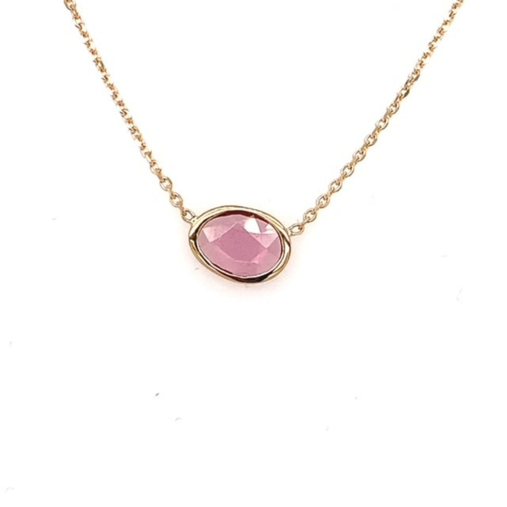 On The Edge Unique Beauty - Pink Rhodolite Garnet