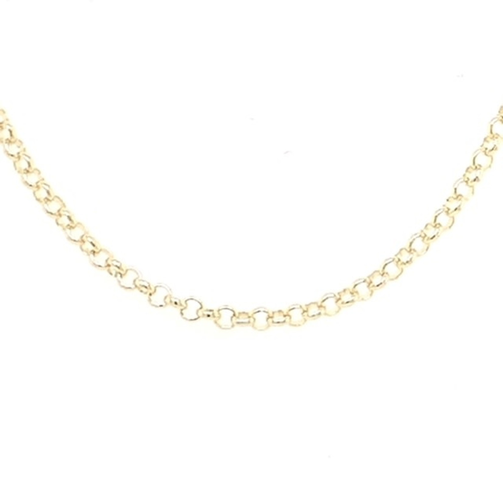 """This Is Life 14kty Rolo Chain - 1.5mm, 20"""""""