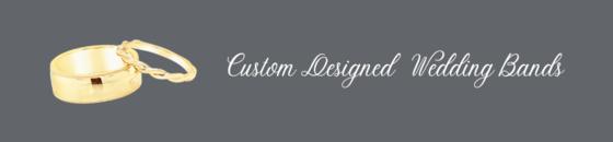 * Custom Designed Wedding Bands Gallery