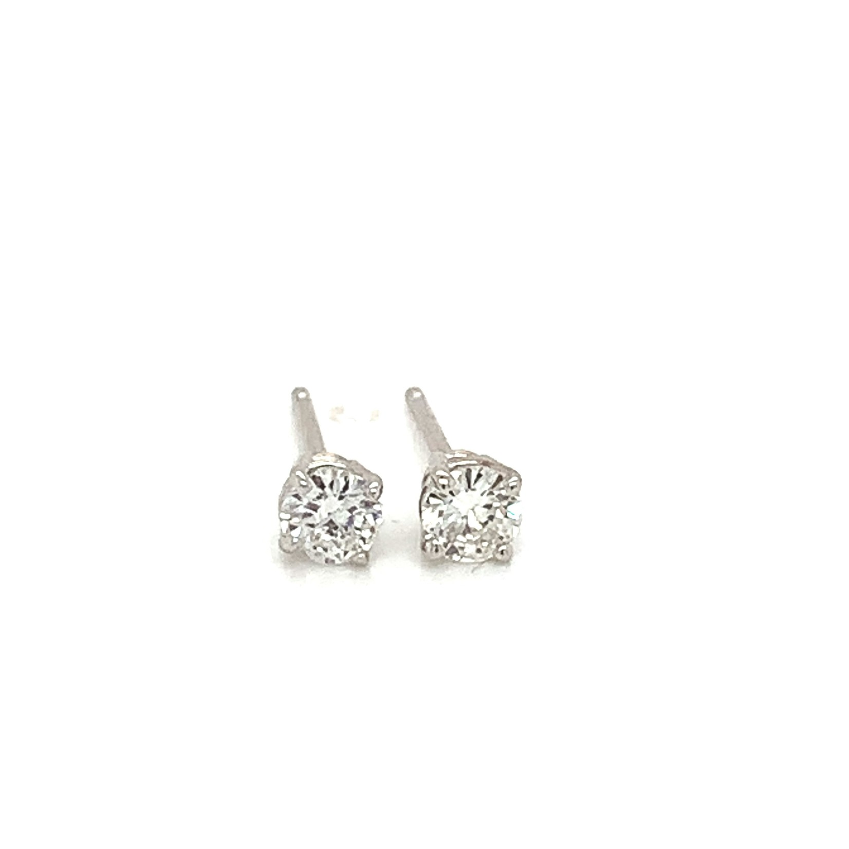 Elegant Diamond Stud Earrings -  .20CTW