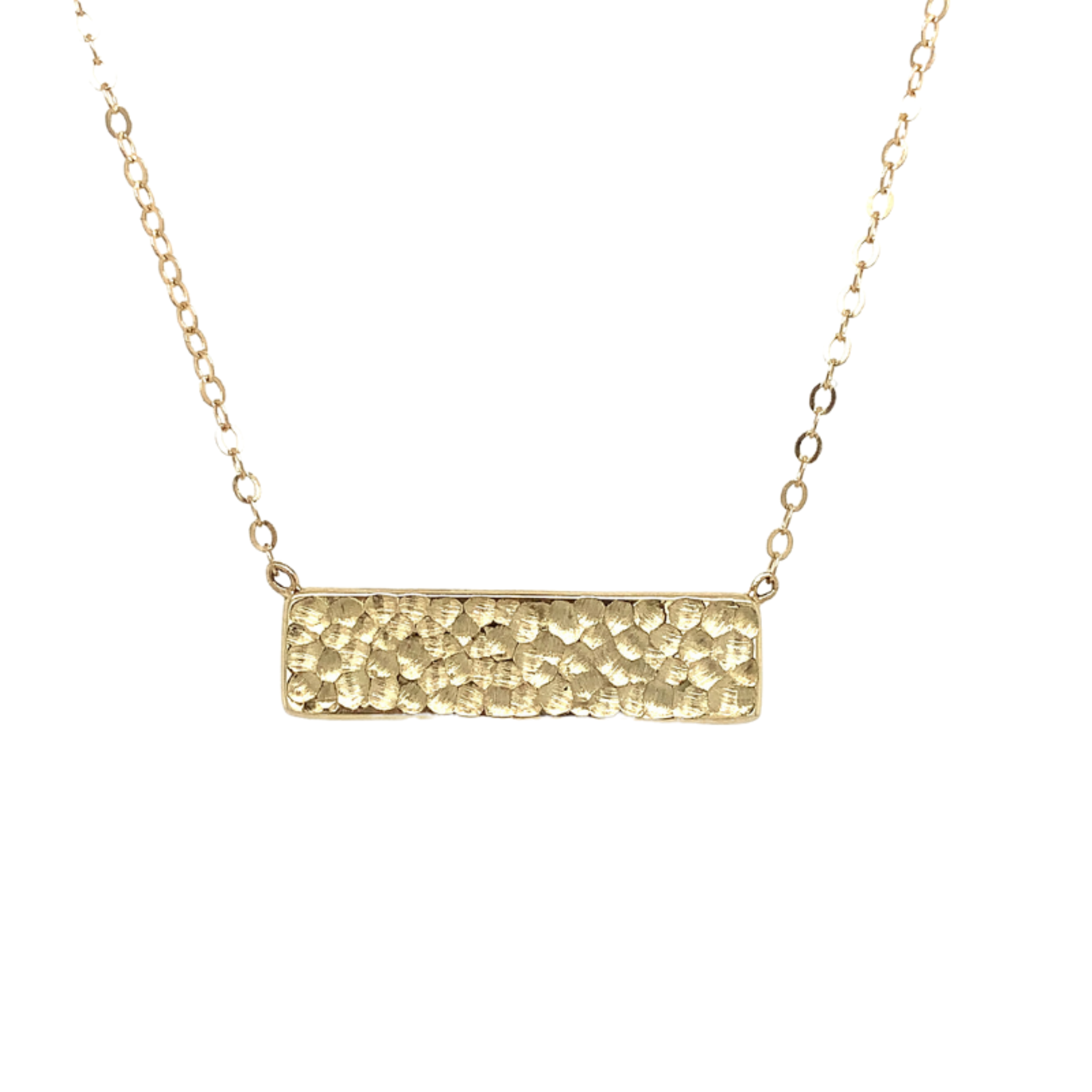 On The Edge Strength Necklace 14kty