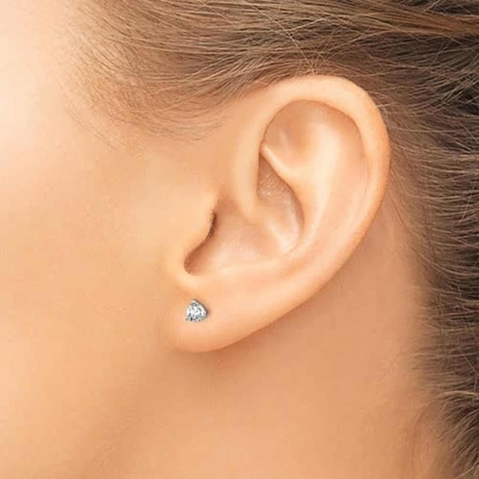 On The Edge Diamond Earrings -  0.36 ctw