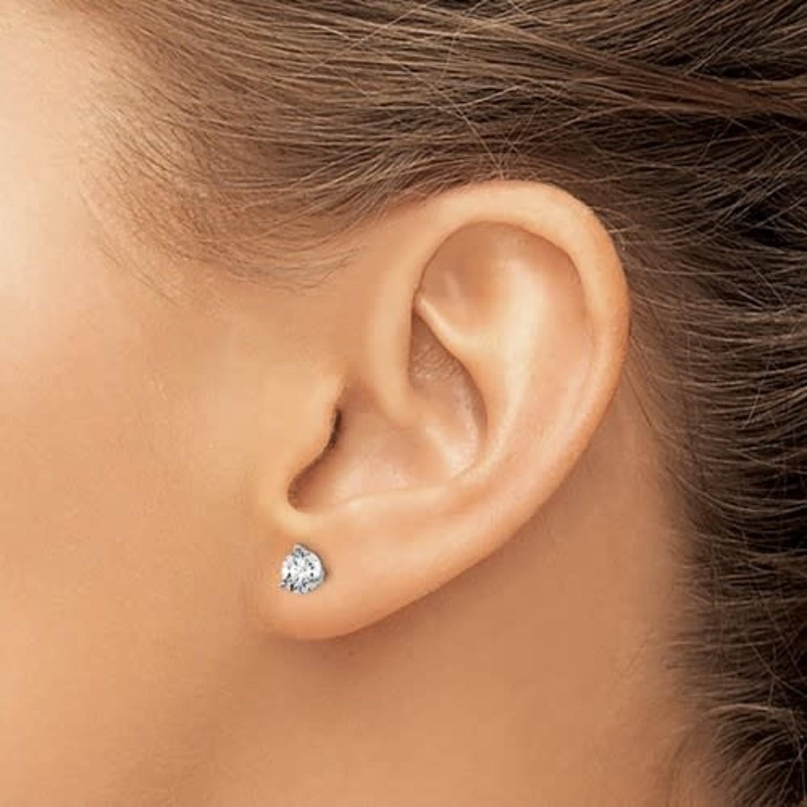On The Edge Diamond Earrings - 1.00ctw