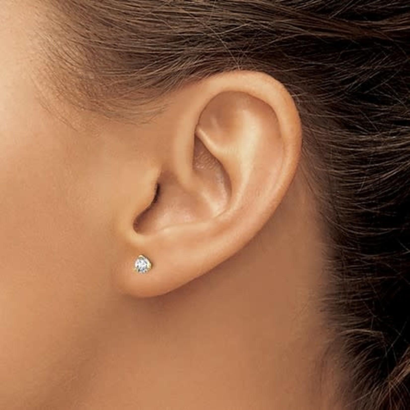 On The Edge Diamond Earrings - 0.36ctw