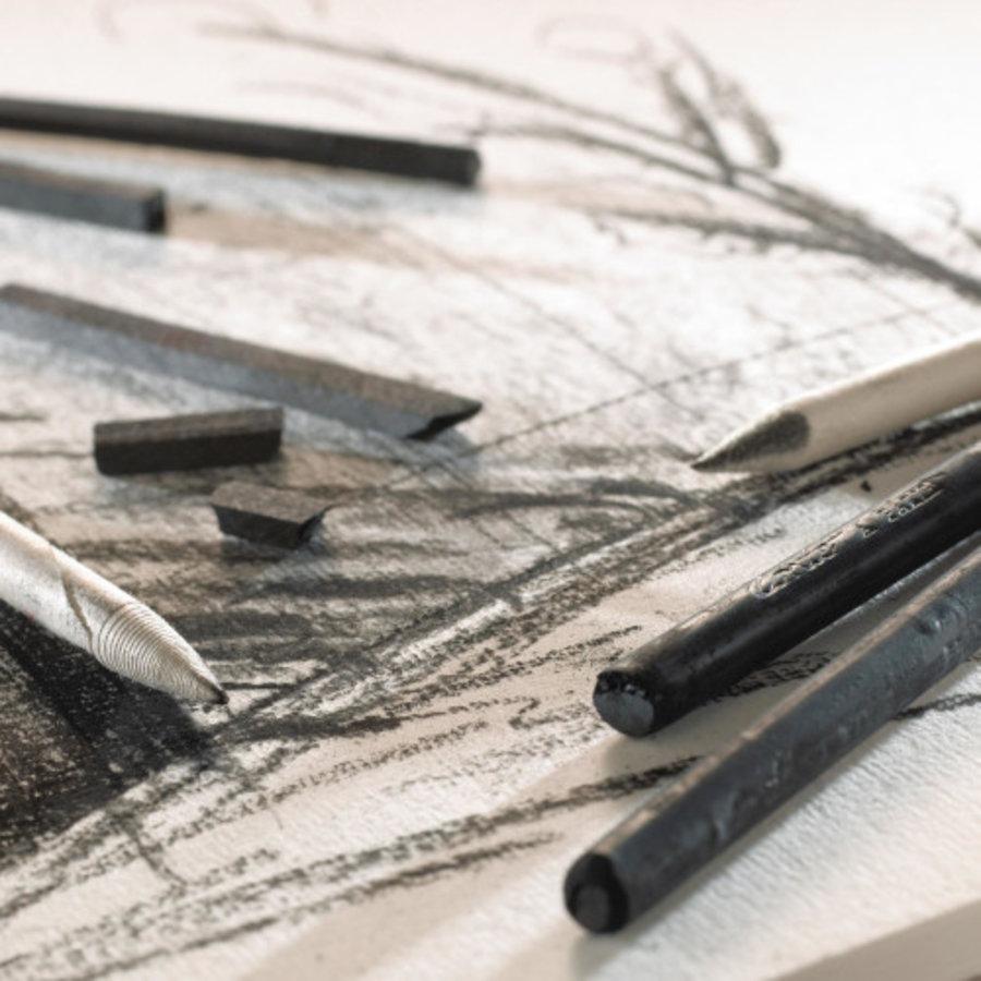 Carbon, Charcoal & Graphite