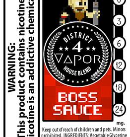 District 4 Vapor Boss Sauce