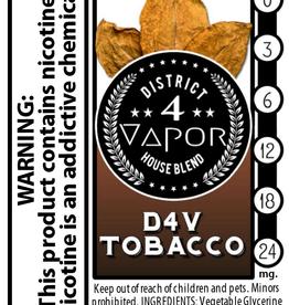 District 4 Vapor D4V Tobacco