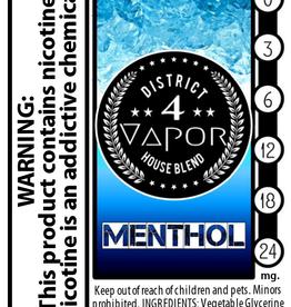 District 4 Vapor Menthol