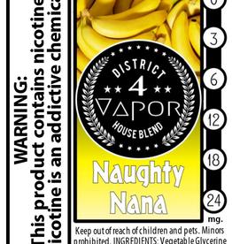 District 4 Vapor Naughty Nana