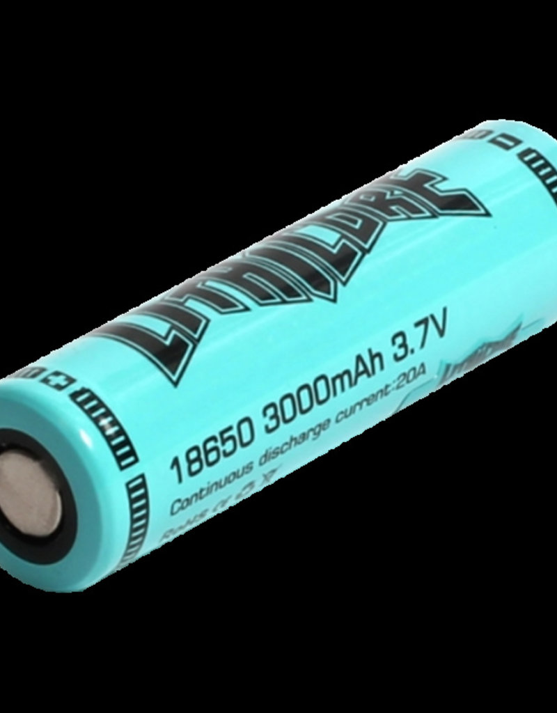 LITHICORE Lithicore 18650 Battery 3500MAH [10A cont/20A pulse]