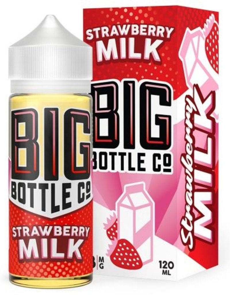 BIG BOTTLE CO Strawberry Milk [Big Bottle Co]