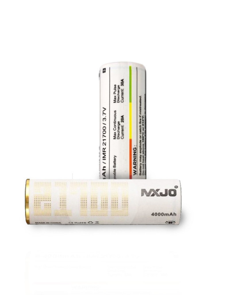 MXJO MXJO 4000mAh 20A- 21700 Battery