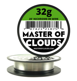MASTER OF CLOUDS Master of Clouds 32G NICHROME [Ni80] 25FT