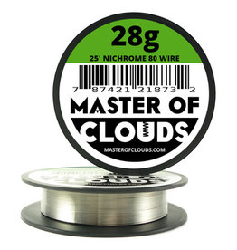 MASTER OF CLOUDS Master of Clouds 28G NICHROME [Ni80] 25FT