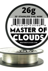 MASTER OF CLOUDS Master of Clouds 26G STAINLESS [316L] 25FT
