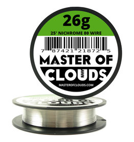 MASTER OF CLOUDS Master of Clouds 26G NICHROME [Ni80] 25FT