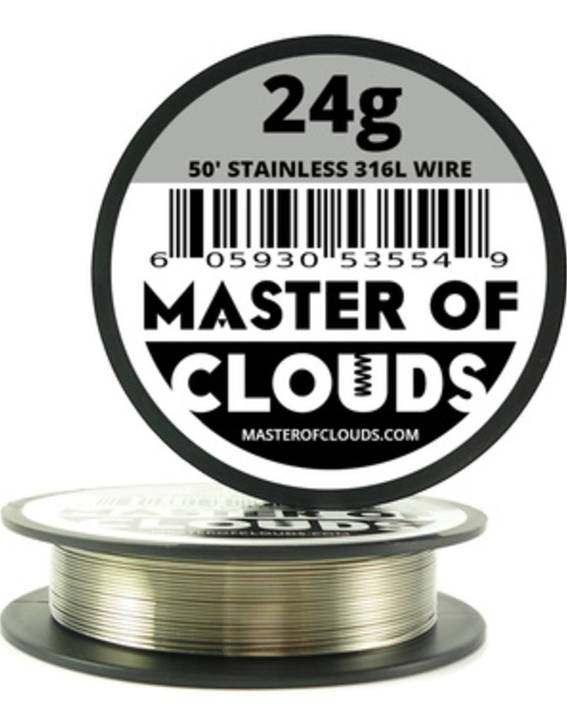 MASTER OF CLOUDS Master of Clouds 24G STAINLESS [316L] 50ft