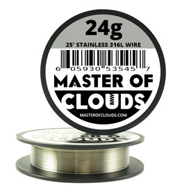 MASTER OF CLOUDS Master of Clouds 24G STAINLESS [316L] 25FT