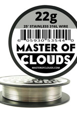 MASTER OF CLOUDS Master of Clouds 22G STAINLESS [316L] 25FT