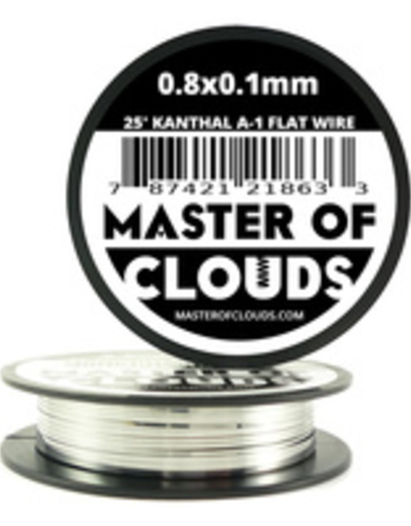 MASTER OF CLOUDS Master of Clouds 0.8X0.1M KANTHAL [A1] 25FT